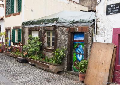 Haus in der Altstadt von Funchal, Madeira (PRT), Foto-Nr. 269