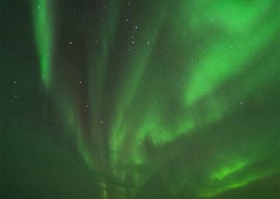 Nordlicht über dem Menesjärvisee FI, Foto-Nr. 186