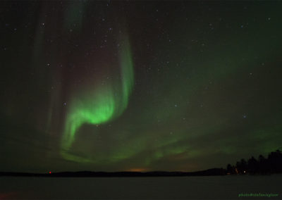 Polarlicht über dem Menesjärvisee FI, Foto-Nr. 196