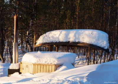 Hotpot, Hotel Korpikartano, Menesjärvi FI, Foto-Nr. 197