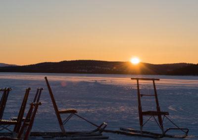 Sonnenuntergang am Menesjärvisee FI, Foto-Nr. 188