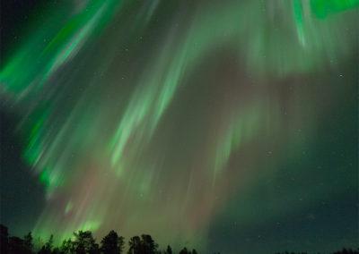 Aurora Borealis über Menesjärvi FI, Foto-Nr. 199