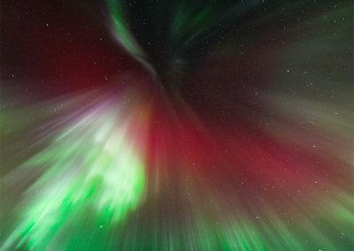 Aurora Borealis über Menesjärvi FI, Foto-Nr. 189