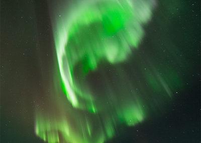 Aurora Borealis über dem Menesjärvisee FI, Foto-Nr. 190