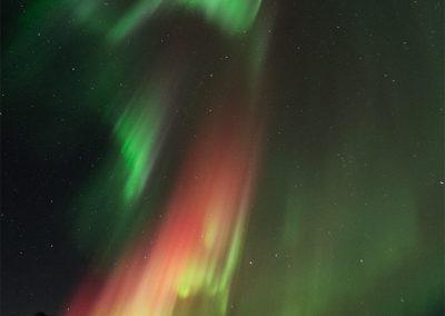 Aurora Borealis über Menesjärvi FI, Foto-Nr. 192