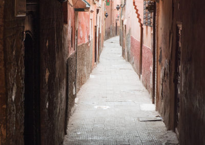 Gässchen in Marrakesch (MAR), Foto-Nr. 240