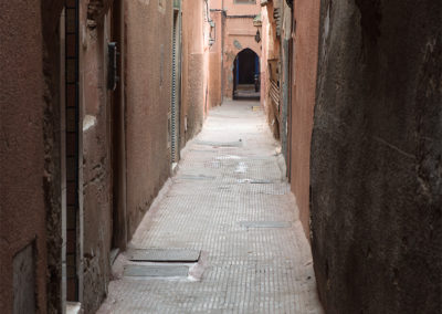 Gässchen in Marrakesch (MAR), Foto-Nr. 265