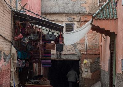 Gässchen in Marrakesch (MAR), Foto-Nr. 245