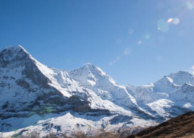 Eiger, Mönch und Jungfrau, Foto-Nr. 450