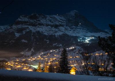 Grindelwald bei Nacht, Foto-Nr. 120