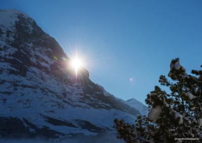Sonne am Eiger, Foto-Nr. 122