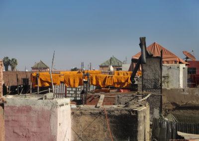 Über den Dächern von Marrakesch (MAR), Foto-Nr. 348