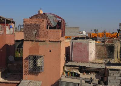 Über den Dächsern von Marrakesch (MAR), Foto-Nr. 347
