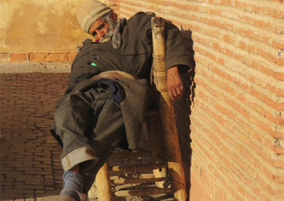Siesta in Marrakesch (MAR), Foto-Nr. 336