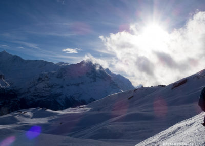 Blick vom Oberjoch zum Eiger, Foto-Nr. 453