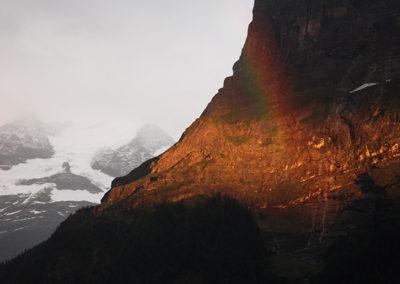 Regenbogen über der Ostegg, Grindelwald (CH). Foto-Nr.