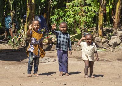 Kinder in Mto Wa Mbu (TZ)