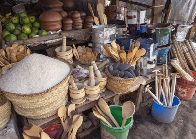 Marktstand in Mto Wa Mbu (TZ)