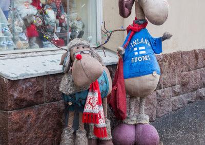 Rentier und Elch ganz zahm, Helsinki FI, Foto-Nr. 185