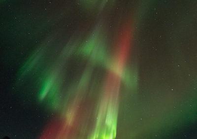 Aurora Borealis über Menesjärvi FI, Foto-Nr. 200