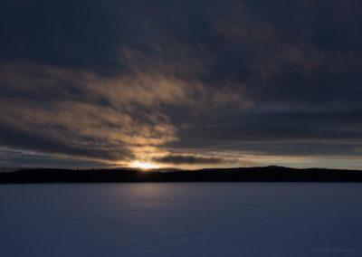 Sonnenuntergang, Menesjärvi FI, Foto-Nr. 208
