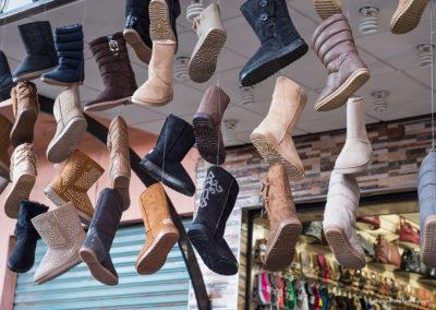 Stiefel im Souk, Marrakesch (MAR), Foto-Nr. 237