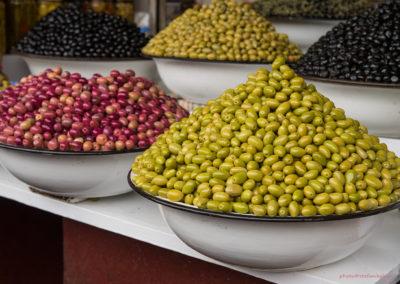 Oliven im Souk, Marrakesch (MAR), Foto-Nr. 238