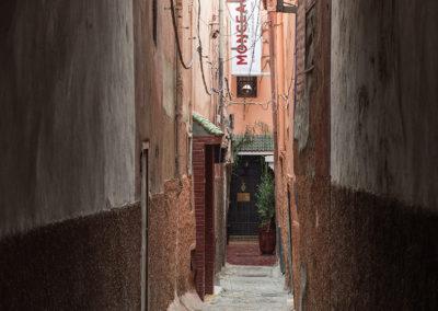 Gässchen in Marrakesch (MAR), Foto-Nr. 243