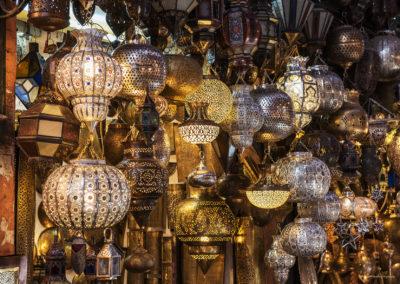 Lampen im Souk, Marrakesch (MAR), Foto-Nr. 250