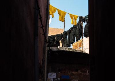 Trocknen über den Dächern, Marrakesch (MAR), Foto-Nr. 251