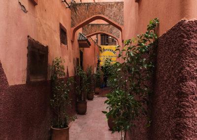 Gässchen in Marrakesch (MAR), Foto-Nr. 257