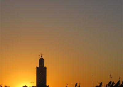 Sonnenuntergang, Marrakesch (MAR), Foto-Nr. 339