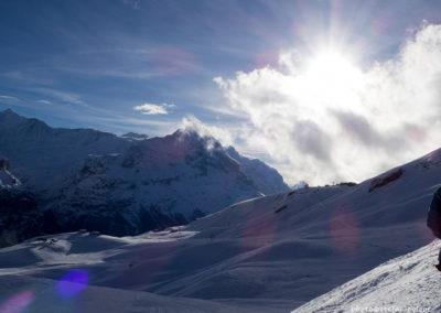 Blick vom Oberjoch zum Eiger, Foto-Nr. 435r