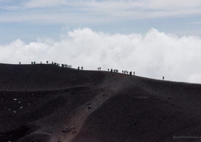 Kraterwanderung am Torre del Filosofo (Etna), Sizilien (I), Foto-Nr. 563