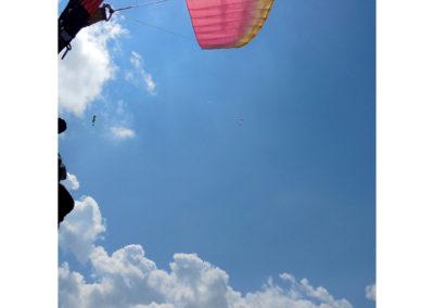 Gleitschirmfliegen, Foto-Nr. 533