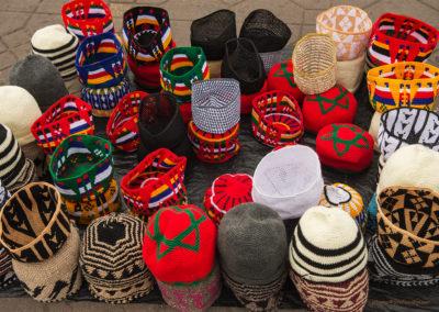 Marokkanische Hüte, Marrakesch (MAR), Foto-Nr. 231