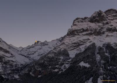 Abendsonne am Finsteraarhorn (Grindelwald, CH), Foto-Nr. 111